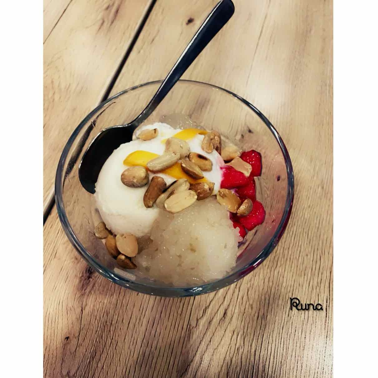Photo of thai coconut Icecream by Runa Ganguly at BetterButter