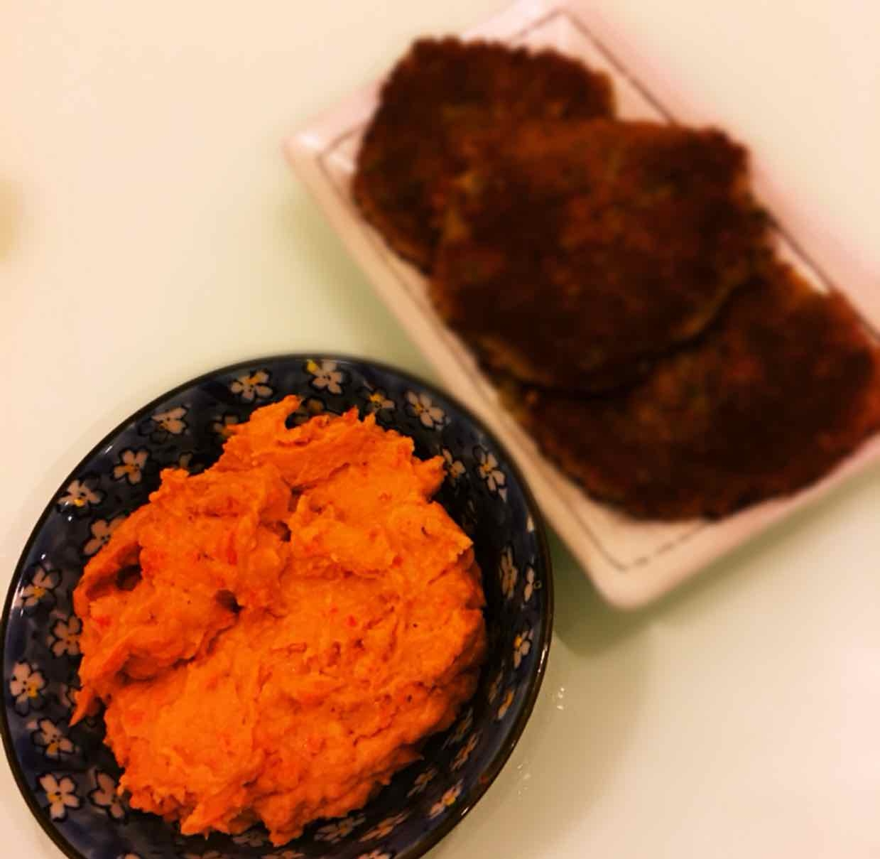 Photo of Roasted Red Bell Pepper Hummus by Runa Ganguly at BetterButter