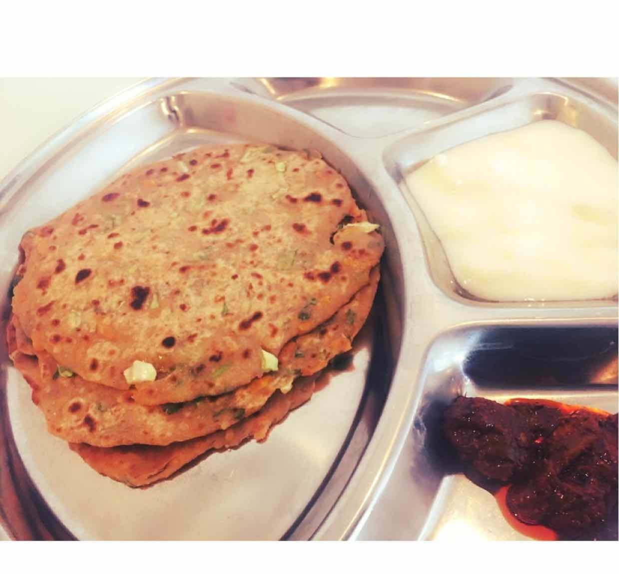 Photo of Mixed Vegetable Paratha by Runa Ganguly at BetterButter