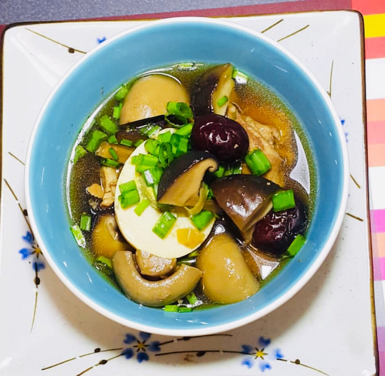 Photo of Chicken Soup with Ginger and Shiitake Mushrooms by Runa Ganguly at BetterButter