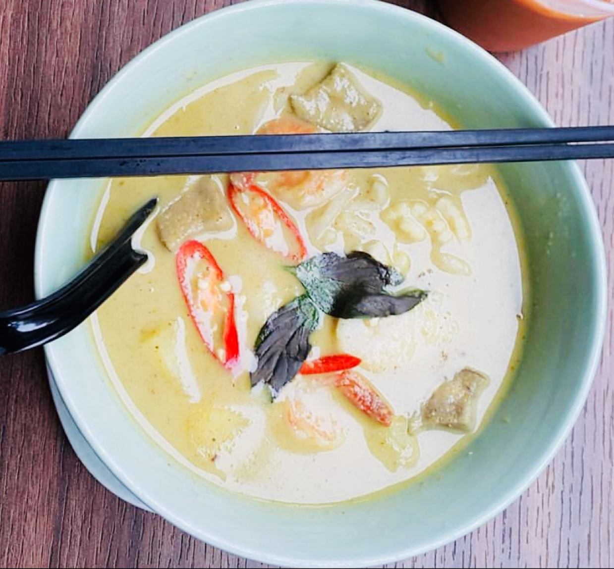 How to make Thai Green Curry Noodle Soup