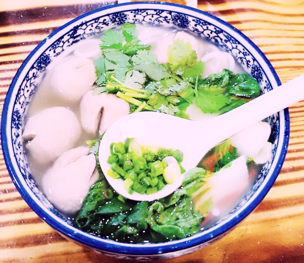 Photo of Asian Meatball Noodle Soup by Runa Ganguly at BetterButter