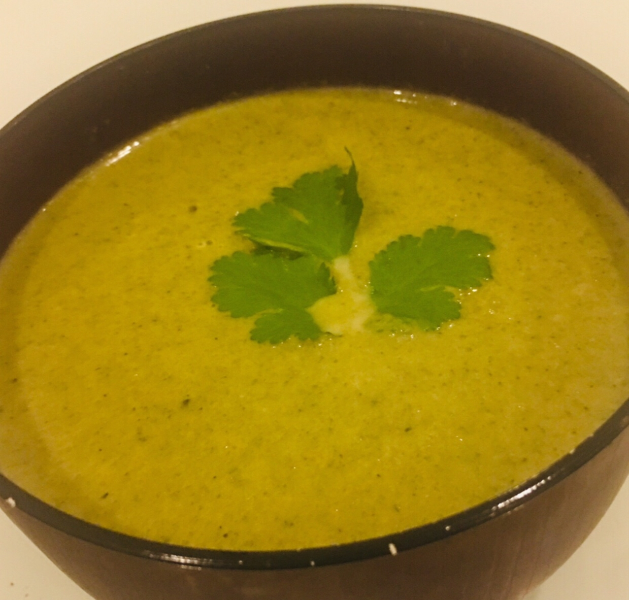 Photo of Cheesy Broccoli-Bean Soup by Runa Ganguly at BetterButter