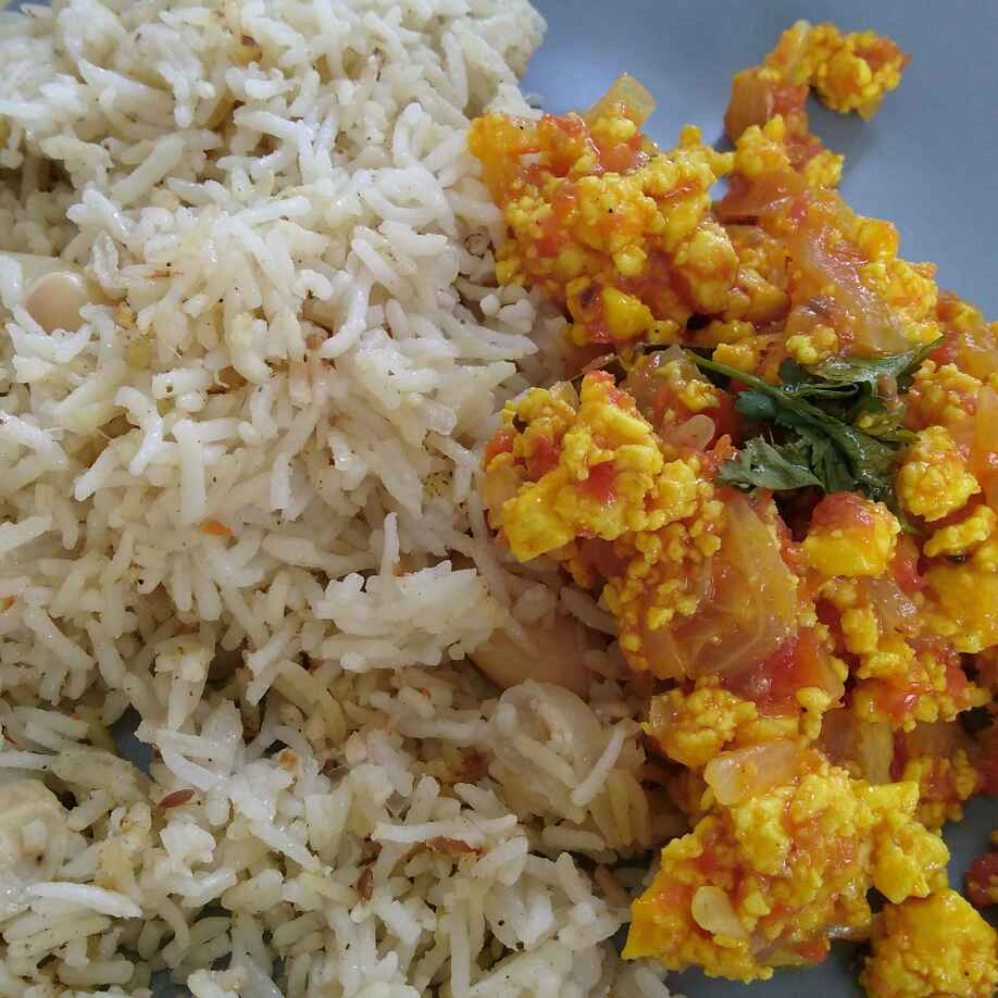 Photo of Paneer bhurji by Runa Ganguly at BetterButter