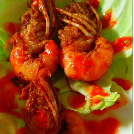 How to make SPICY PAN FRIED PRAWN