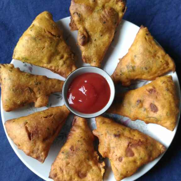 How to make Roti fritter
