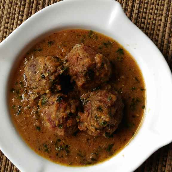 How to make Kofta Curry