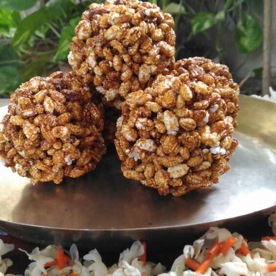 Photo of Popped rice sweet ball by runu chowdhury at BetterButter