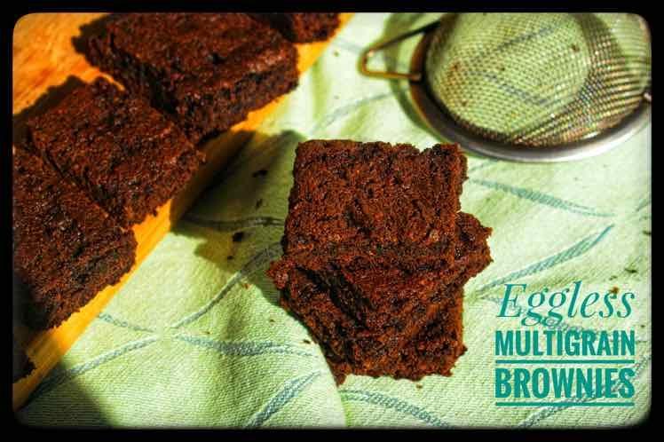 How to make Multigrain Eggless Brownies
