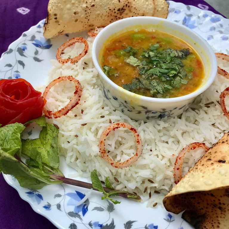 Photo of Dal Fry Jeera Rice by Rupa Thaker at BetterButter