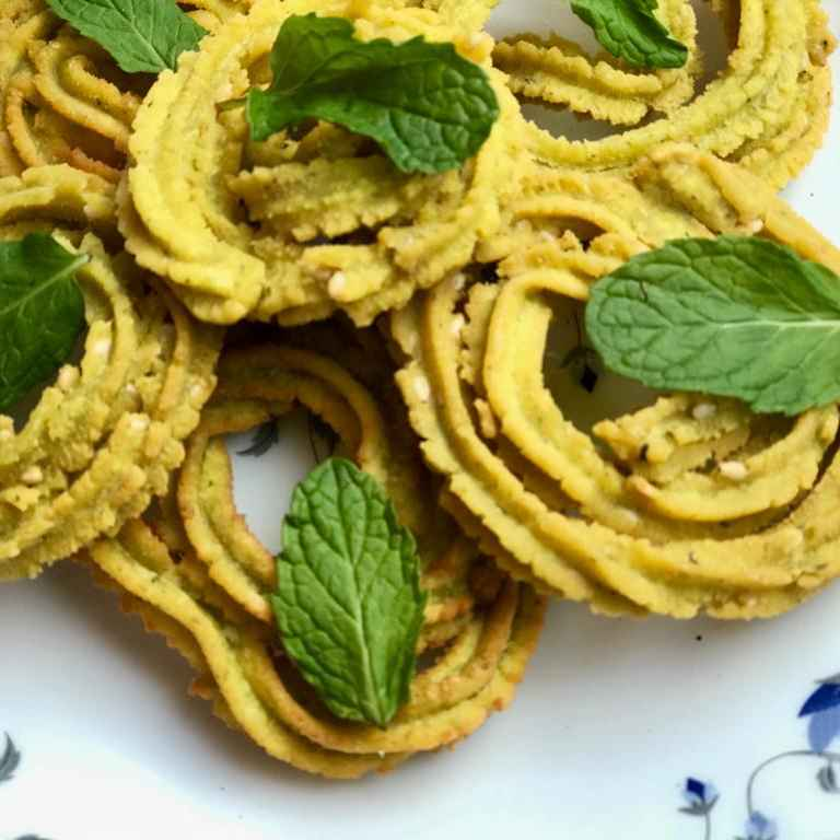 Photo of Mint Chakari by Rupa Thaker at BetterButter