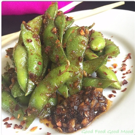How to make Sweet & Spicy Edamame