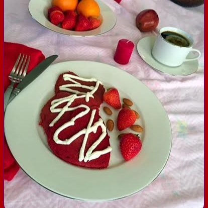 Photo of Red-Velvet Pancake by Rupal Patel at BetterButter