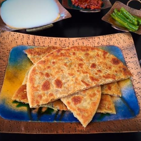 Photo of Papad Parathas by Rupal Patel at BetterButter