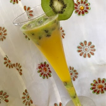 Photo of Orange & Kiwi Lemonade by Rupal Patel at BetterButter
