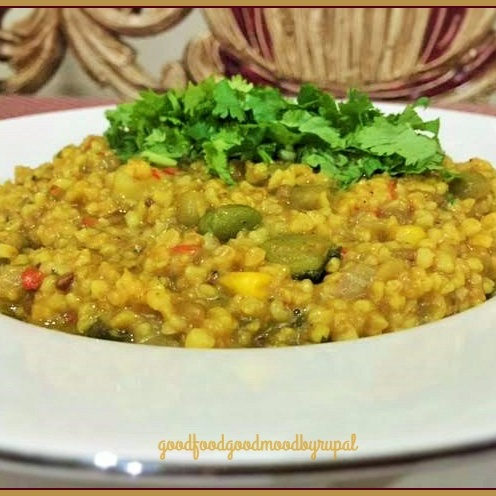 Photo of Cracked Wheat & Oats Vegetable Khichdi by Rupal Patel at BetterButter