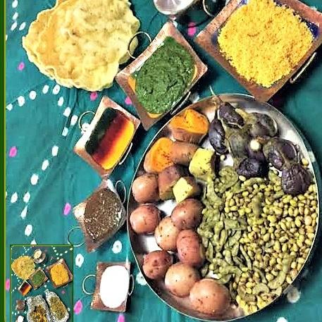 How to make Traditional vs Tandoori Undhiyu