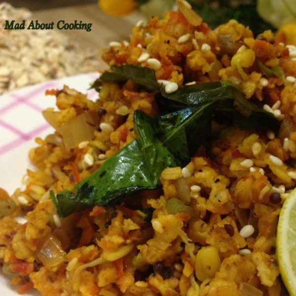 How to make Oats Poha – Healthy Breakfast