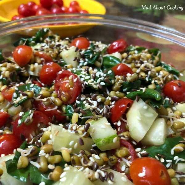 How to make Cherry Tomato Spinach Salad – Super Healthy Salad
