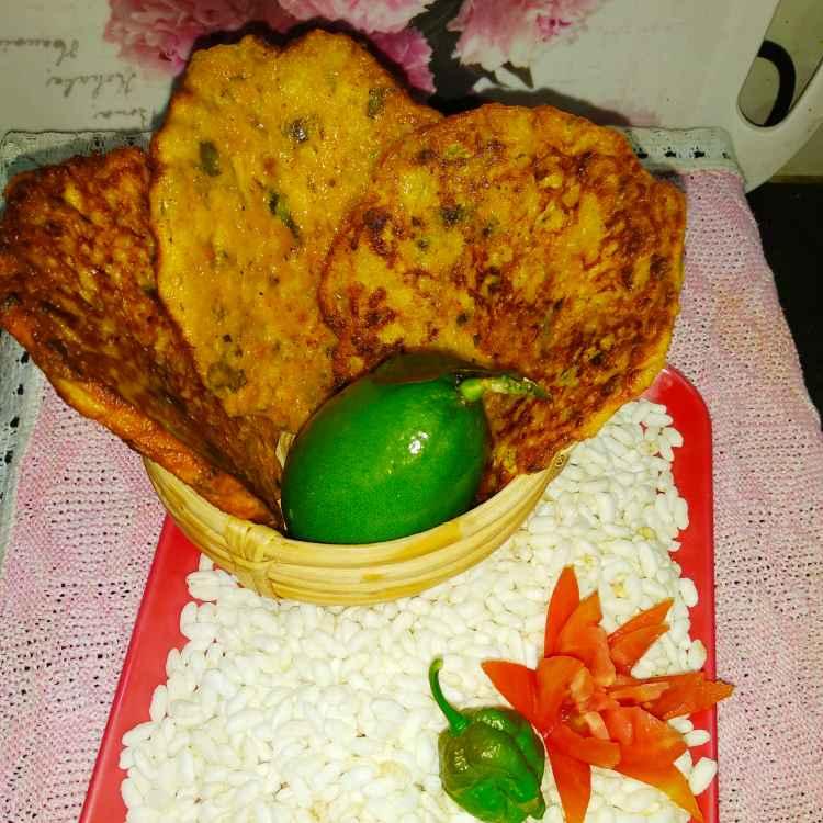 Photo of Gandharaj vetki pancake by Rupashree Halder at BetterButter
