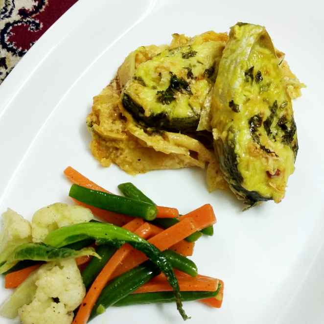 Photo of Baked hilsa with creamy potato by Rupashree Halder at BetterButter
