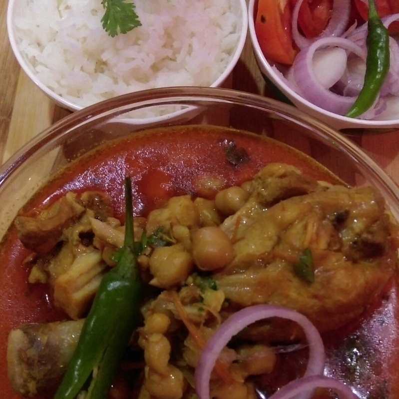 Photo of Murg Choley by Saba Naseem at BetterButter