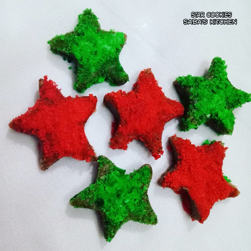 How to make Gingerbread Star Cookies