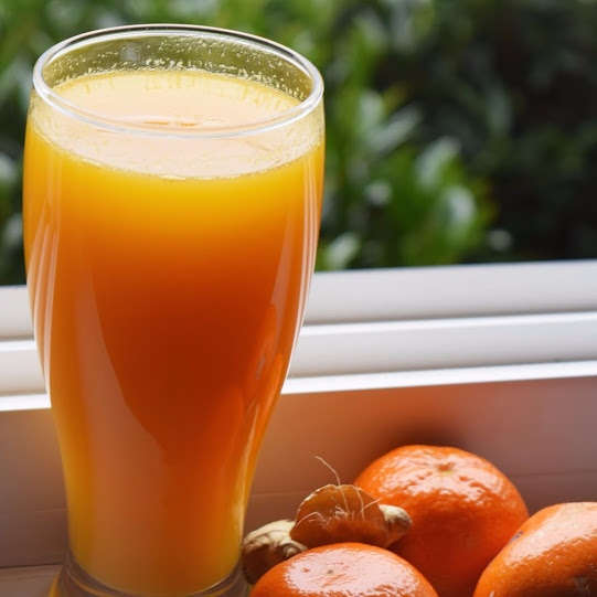 How to make Ginger Orange Juice | Natural detoxification Juice for Weight Loss