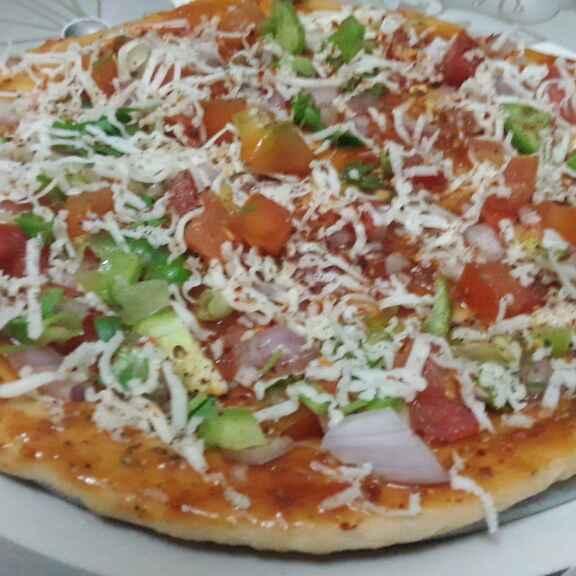 Photo of Cheezy pizza by sabiya mulani-shaikh at BetterButter