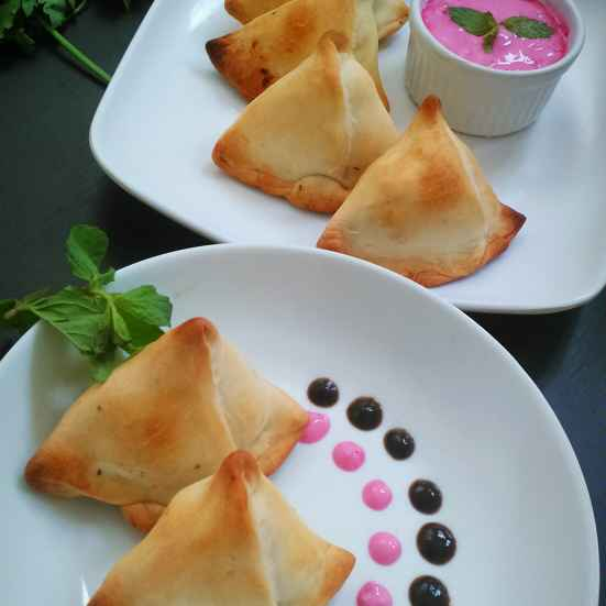 How to make Baked samosa
