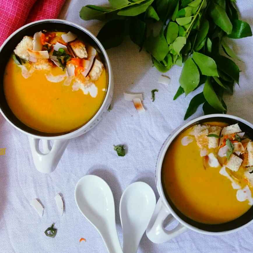 How to make Roasted Pumpkin & Coconut Soup
