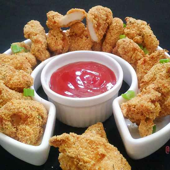 Photo of Baked Chicken Nuggets by Sabrina Yasmin at BetterButter