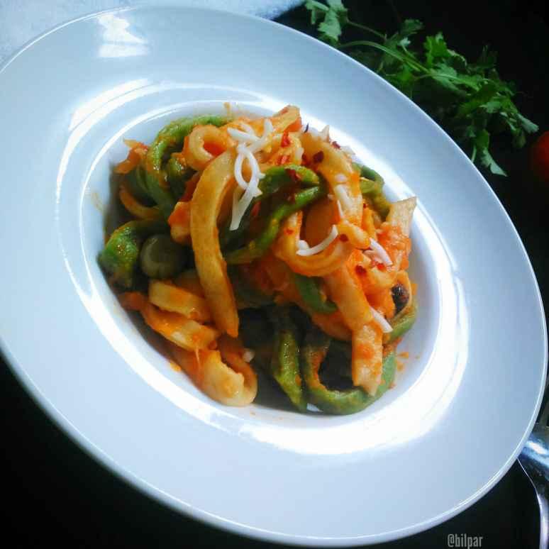 Photo of Homemade Colourful Pasta by Sabrina Yasmin at BetterButter