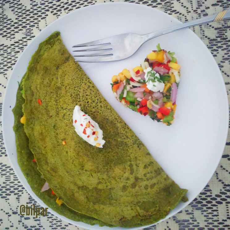 Photo of Multigrain Stuffed Spinach Chila by Sabrina Yasmin at BetterButter
