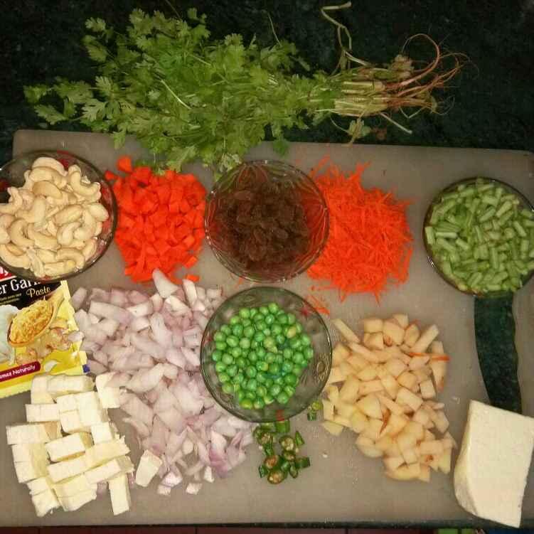 How to make Nani's Vegetable biryani