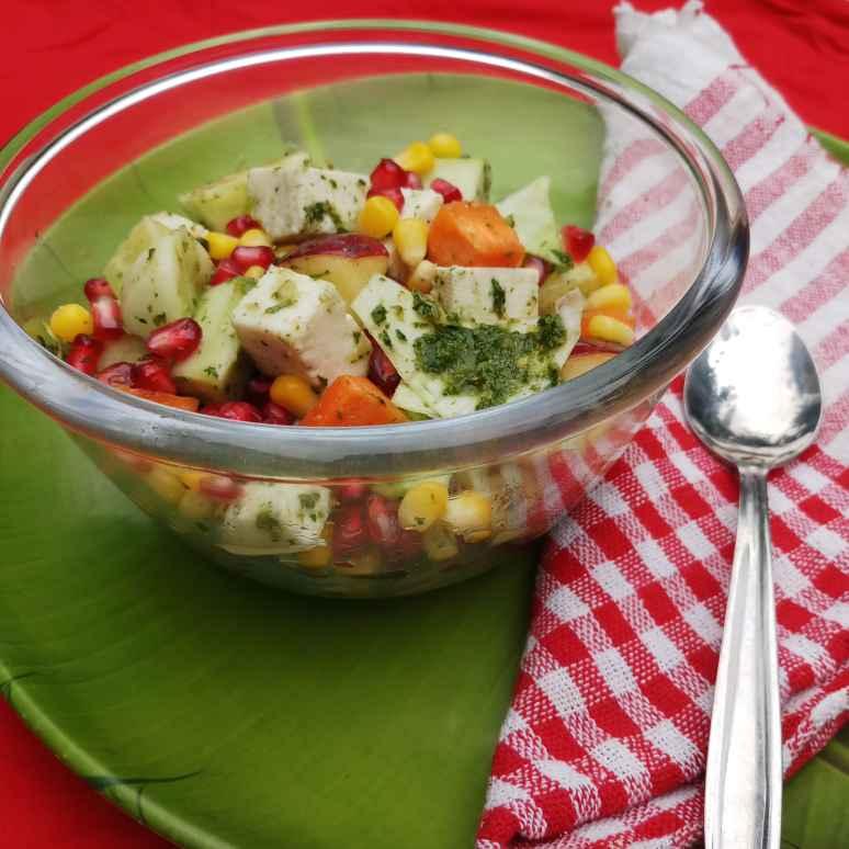 Photo of Mixed fruit corn salad by Sadhana Dey at BetterButter