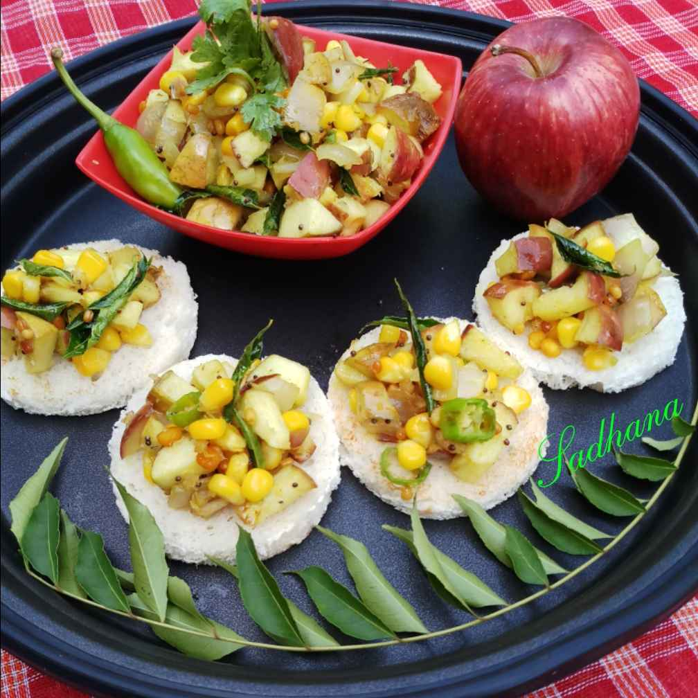 Photo of Apple corn poriyal by Sadhana Dey at BetterButter