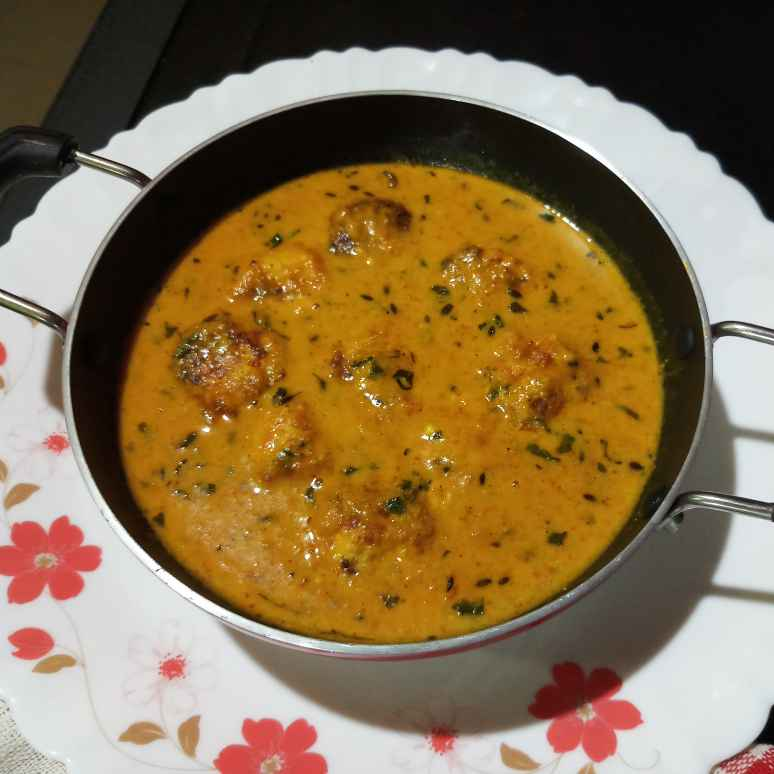 Photo of Paneer kofta curry without onion garlic by Sadhana Dey at BetterButter