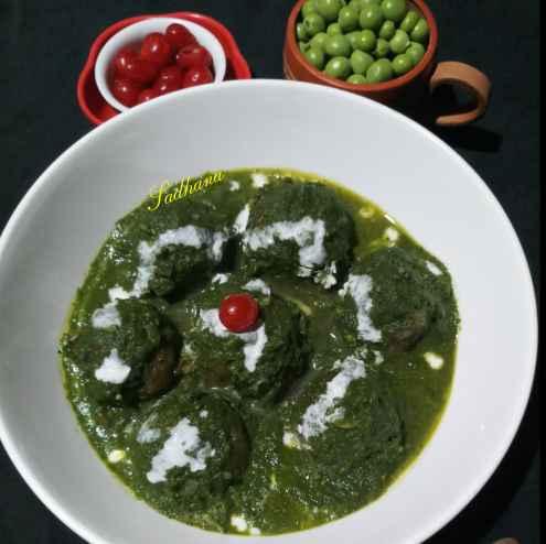 Photo of Green kofta curry by Sadhana Dey at BetterButter