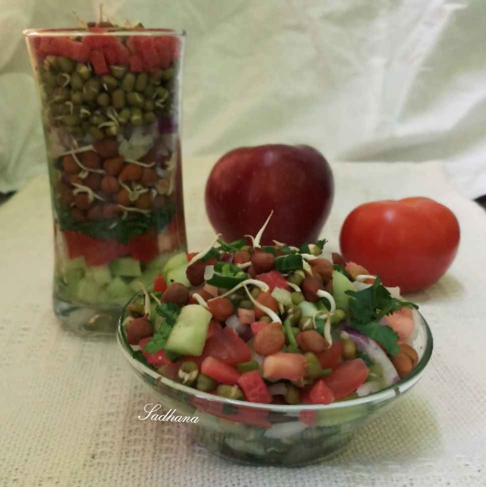 Photo of Sprouts salad by Sadhana Dey at BetterButter