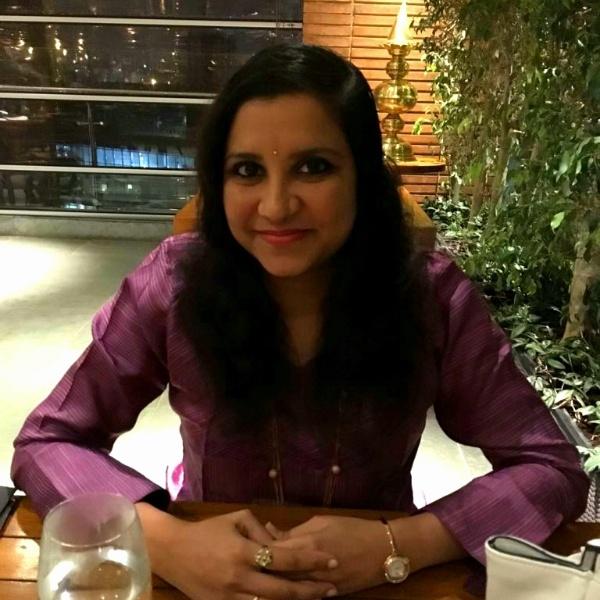 Sadhana Sudarshan food blogger