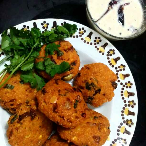 Photo of Paruppu vadai by Safeena Safi at BetterButter