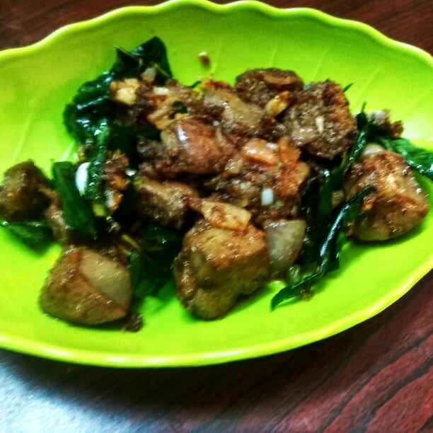 How to make Pepper liver fry