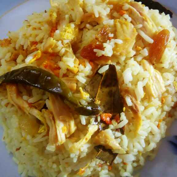 How to make Fry Rice with chicken & egg
