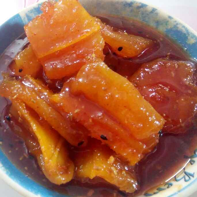 Photo of Sweet mango pickle by Sagarika Das at BetterButter
