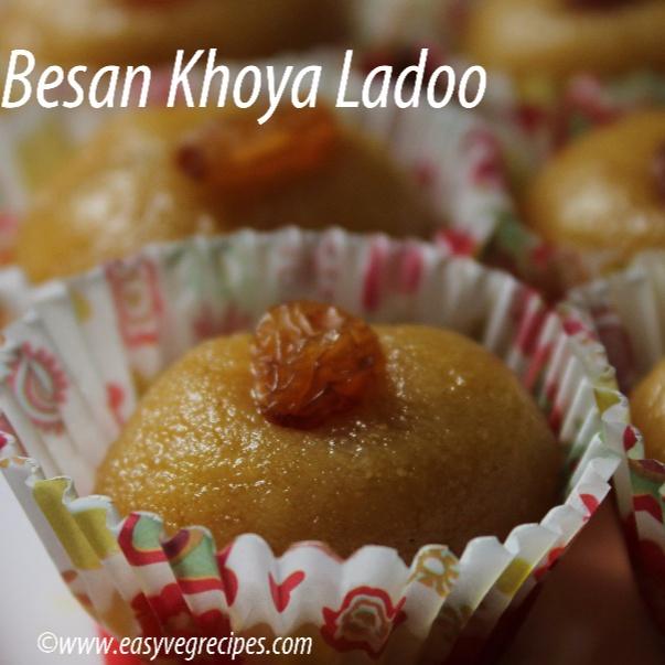 How to make Besan Khoya Ladoo