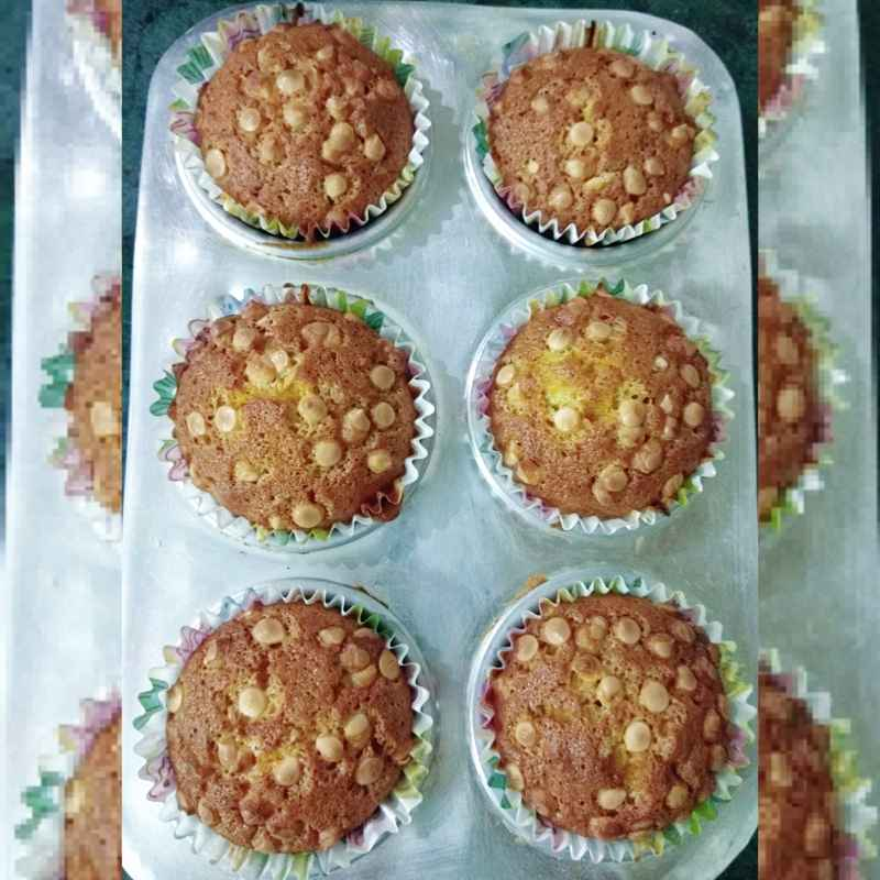 How to make Banana Muffins (Eggless)