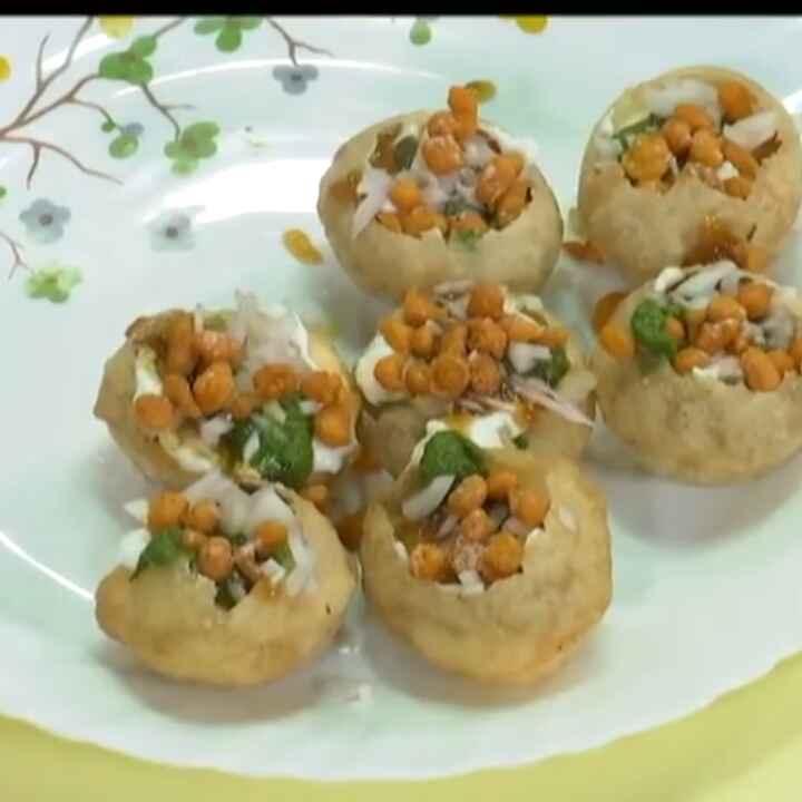 How to make தஹி பூரி சாட்