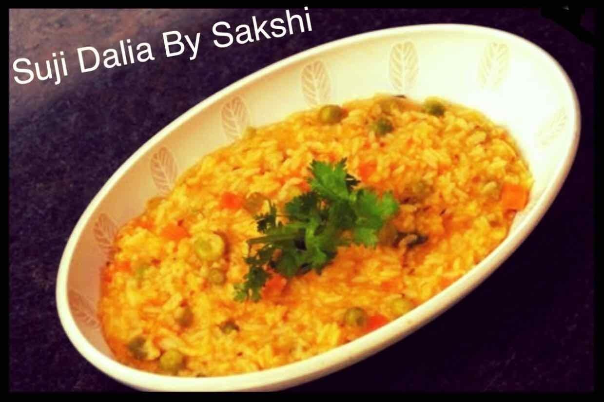 Photo of Vegetable suji daliya by Sakshi Chauhan at BetterButter