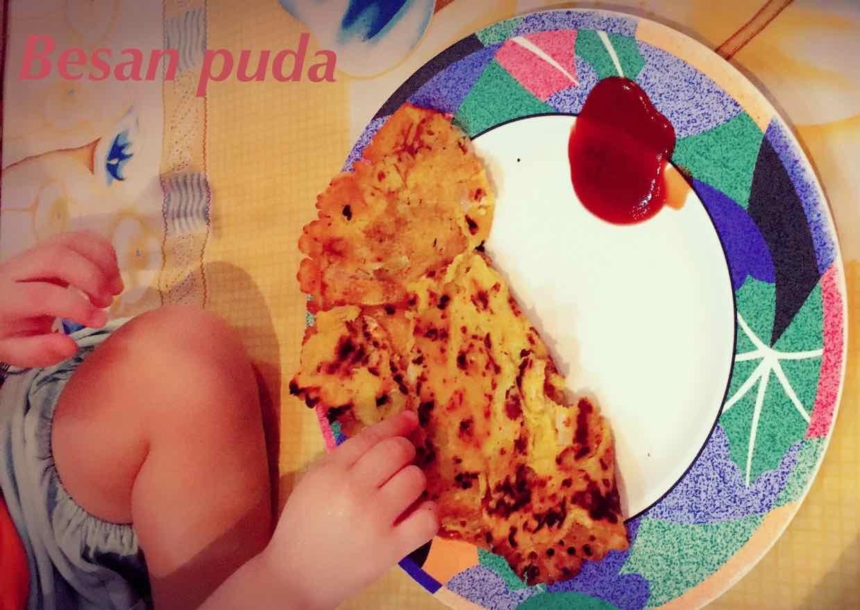 How to make Besan ka puda